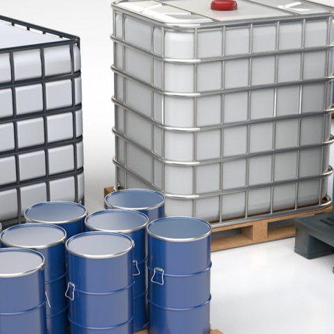 Verpakkingen voor palletvulmachines, IBC vulmachines